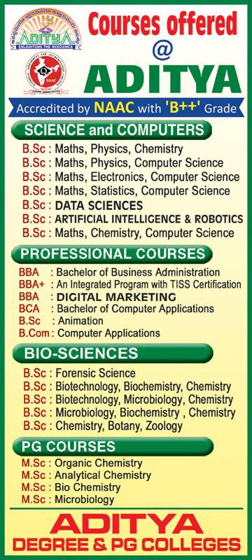 Aditya Degree Colleges